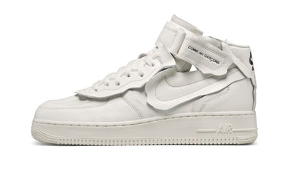Air Force 1 Mid Comme des Garçons White Sneakers Nike homme femme