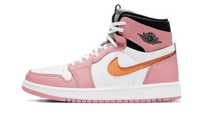 Air Jordan 1 High Zoom Air CMFT Pink Glaze Sneakers Air Jordan homme femme