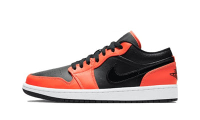 Air Jordan 1 Low Black Orange Sneakers Air Jordan homme femme