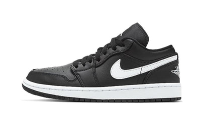 Baskets Air Jordan 1 Low Black White Air Jordan Kikikickz