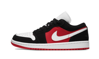 Baskets Air Jordan 1 Low Black White Gym Red Air Jordan Kikikickz