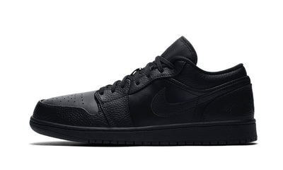 Baskets Air Jordan 1 Low Triple Black Air Jordan Kikikickz