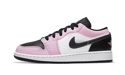 Baskets Air Jordan 1 Low White Light Arctic Pink Air Jordan Kikikickz