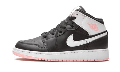 Baskets Air Jordan 1 Mid Black Arctic Pink Air Jordan Kikikickz