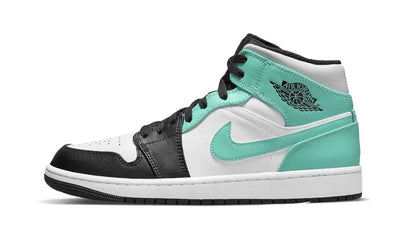 Air Jordan 1 Mid Island Green Sneakers Air Jordan homme femme