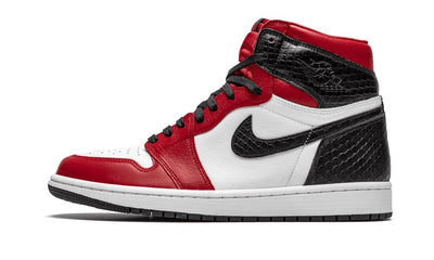 Air Jordan 1 Retro High Satin Snake Chicago Sneakers Air Jordan homme femme