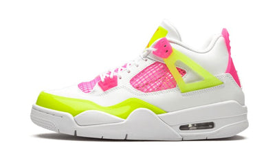 Baskets Air Jordan 4 Retro White Lemon Pink Air Jordan Kikikickz