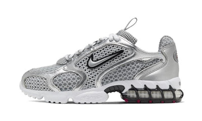 Air Zoom Spiridon Cage 2 Metallic Silver Sneakers Nike homme femme