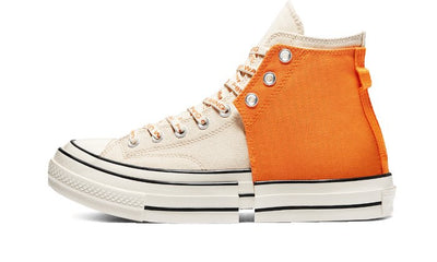 Chuck Taylor All-Star 2-in-1 70s Hi Feng Chen Wang Orange Ivory Sneakers Converse homme femme