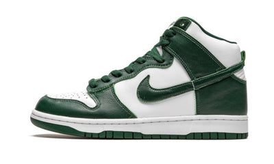 Baskets Dunk High Spartan Green Nike Kikikickz
