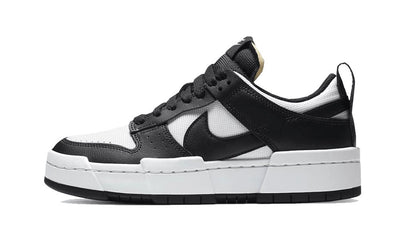 Baskets Dunk Low Disrupt Black White Nike Kikikickz