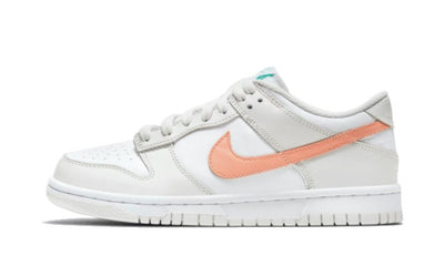 Dunk Low White Bone Peach Aqua Sneakers Nike homme femme