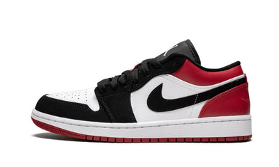 Baskets Jordan 1 Low Black Toe Air Jordan Kikikickz
