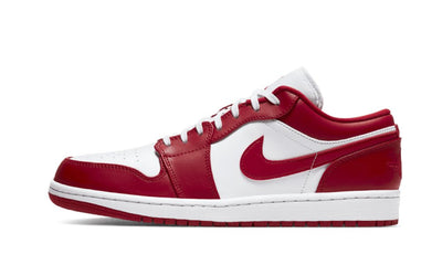 Baskets Jordan 1 Low Gym Red White Air Jordan Kikikickz