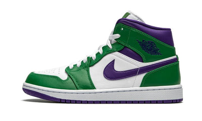 Air Jordan 1 Mid Incredible Hulk Sneakers Air Jordan homme femme