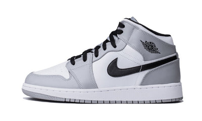 Air Jordan 1 Mid Light Smoke Grey Sneakers Air Jordan homme femme