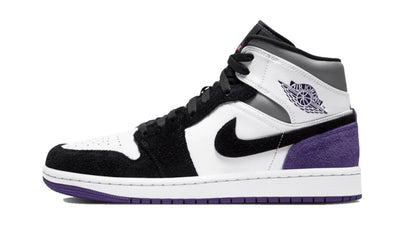 Baskets Jordan 1 Mid SE Purple Air Jordan Kikikickz
