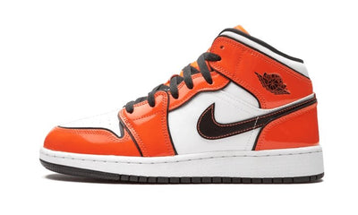 Air Jordan 1 Mid SE Turf Orange Sneakers Air Jordan homme femme
