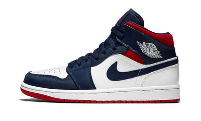 Air Jordan 1 Mid SE USA Sneakers Air Jordan homme femme