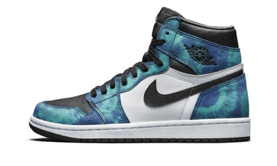 Baskets Jordan 1 Retro High Tie Dye Air Jordan Kikikickz
