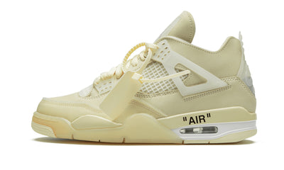 Air Jordan 4 Sail Off White Sneakers Air Jordan homme femme