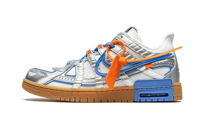 Rubber Off White Blue White Sneakers Nike homme femme