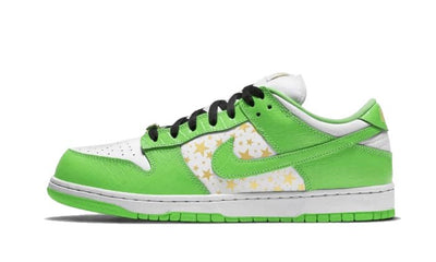 SB Dunk Low Supreme Mean Green Sneakers Nike homme femme