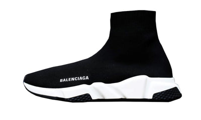 Speed Trainer White Black Sneakers Balenciaga homme femme