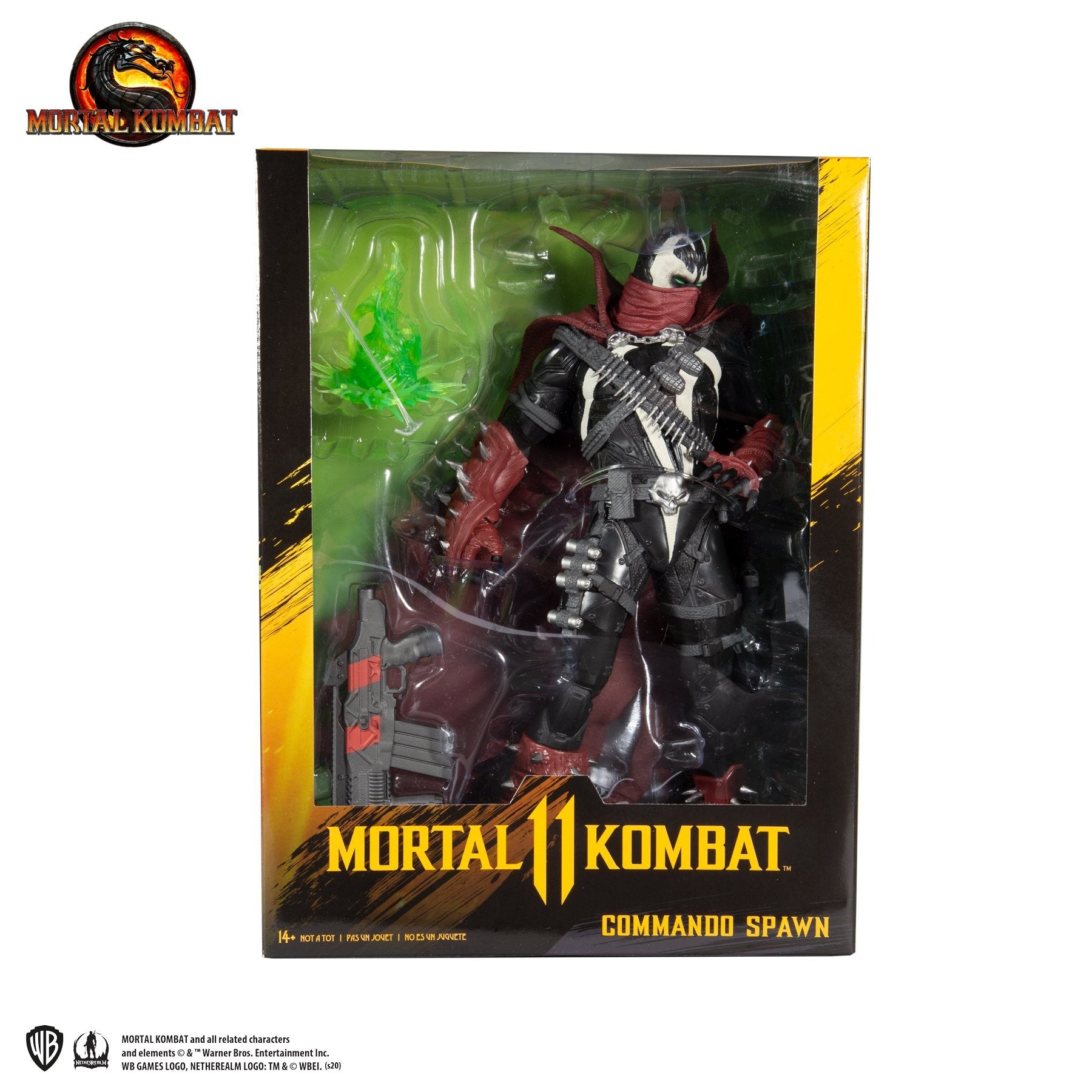 Mortal Kombat Commando Spawn 12