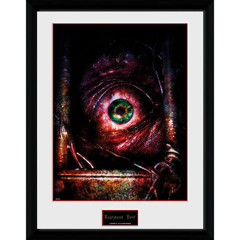 Resident Evil Eye 16 x 12 Inches Framed Print