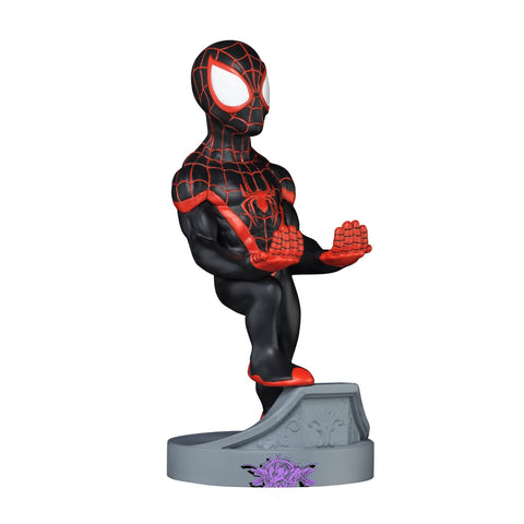 Spider-Man Miles Morales Cable Guy Controller & Smartphone Stand