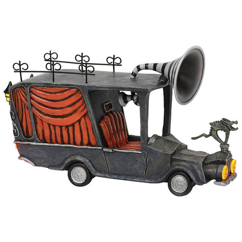 The Nightmare Before Christmas Village by D56 - The Mayor's Car Figurine