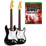 Rock Band 4 Twin Guitar and Game Bundle - Xbox One