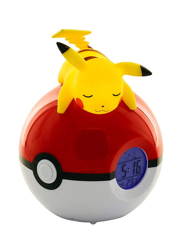 Pokemon Sleeping Pikachu Radio Alarm Clock