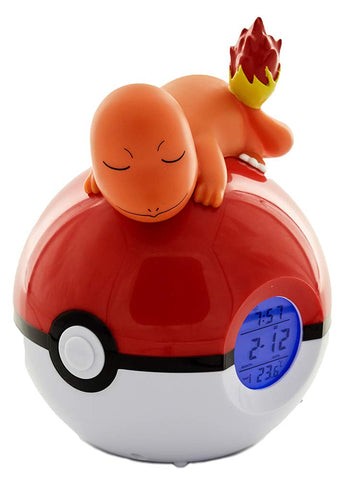 Pokemon Sleeping Charmander Radio Alarm Clock