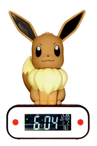 Pokemon Sleeping Eevee Radio Alarm Clock