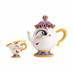 Miss Mindy Presents Mrs Potts and Chips Figurine