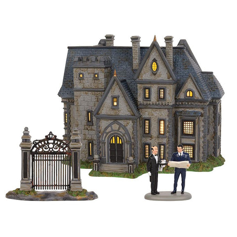 DC Comics Village by D56 - Wayne Manor Statue