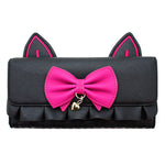 Loungefly x Overwatch D.VA Black Cat Zip-Around Purse