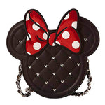 Loungefly x Minnie Mouse Quilted Cross Body Handbag