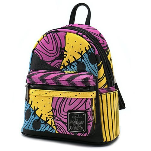 Loungefly x Disney The Nightmare Before Christmas Sally Stitches Mini Backpack