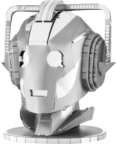 Doctor Who Cyberman Head Metal Earth 3D DIY Metal Model