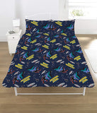 Space Invaders Double Duvet Cover Bedding Set