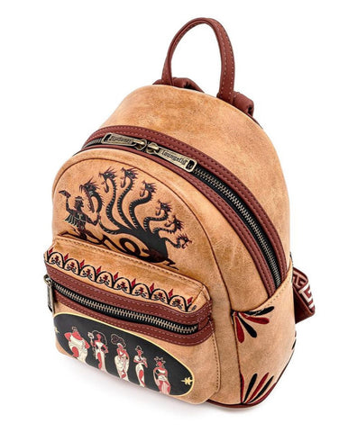 Loungefly x Disney Hercules Muses Mini Backpack