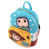 Pop! by Loungefly X Pixar: Toy Story Buzz & Woody Mini Backpack