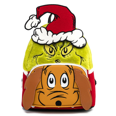 Loungefly x Dr Seuss How the Grinch Stole Christmas Mini Backpack