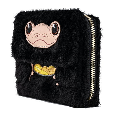 Loungefly x Fantastic Beasts Niffler Plush Purse