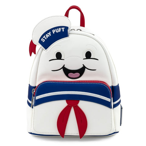 Loungefly x Ghostbusters Stay Puft Marshmallow Man Mini Backpack