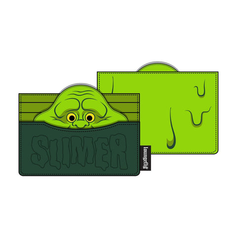 Loungefly x Ghostbusters Slimer Cardholder