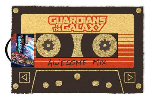Guardians Of The Galaxy Vol. 2 Awesome Mix Coir Doormat